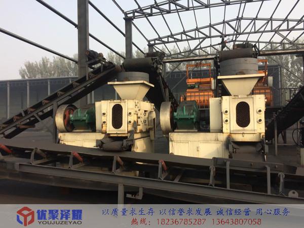 宁夏石嘴山煤粉压球生产线